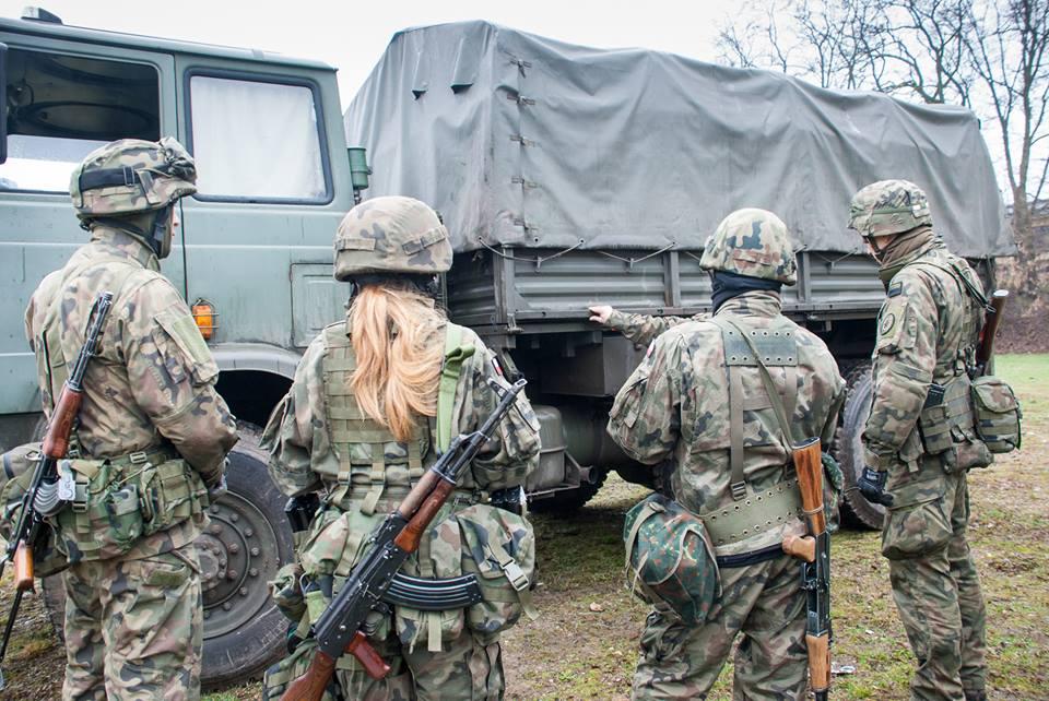Małopolska Obrona Terytorialna - V zajęcia III kursu na poziomie drużyny 12-13.03.2016