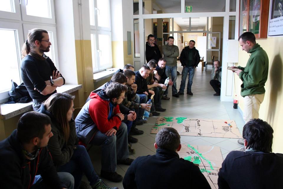 Małopolska Obrona Terytorialna szkolenie 26-27.02.2016