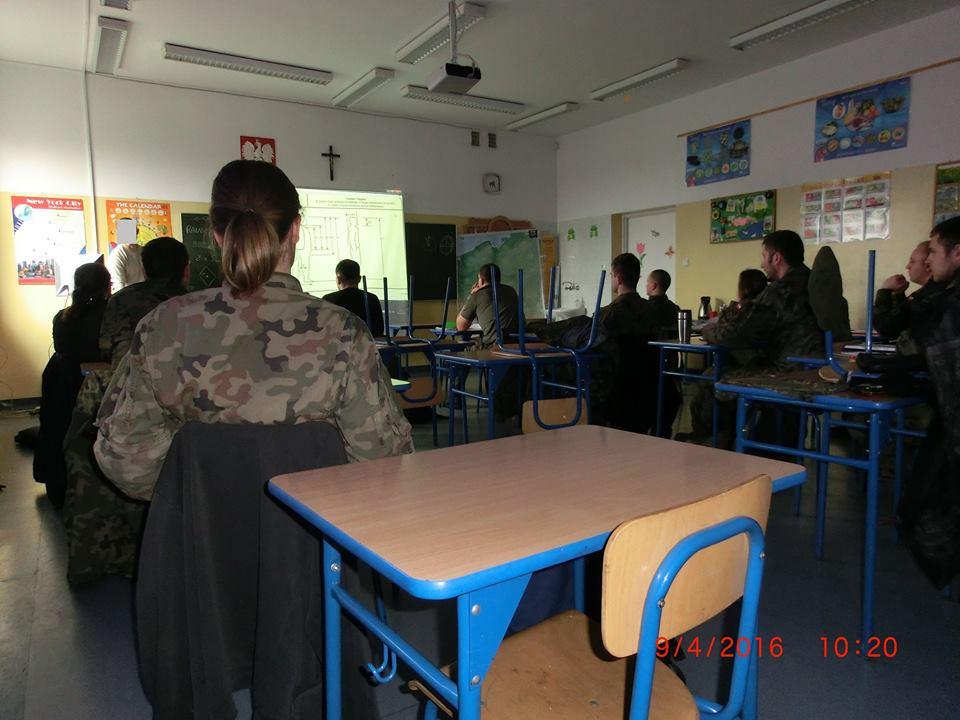 Małopolska Obrona Terytorialna - III zajęcia kursu strzelców wyborowych 09.04.2016