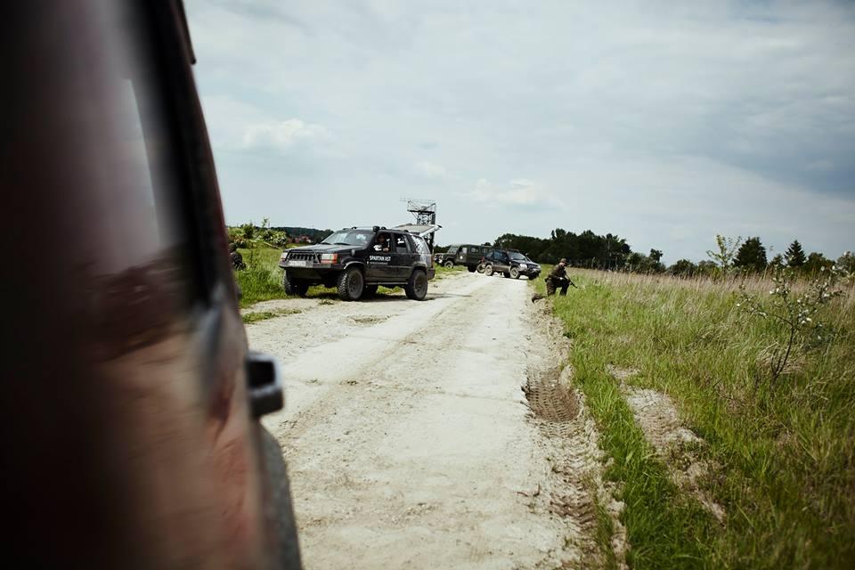 Małopolska Obrona Terytorialna - punkt kontrolny i patrol 24.05.2016