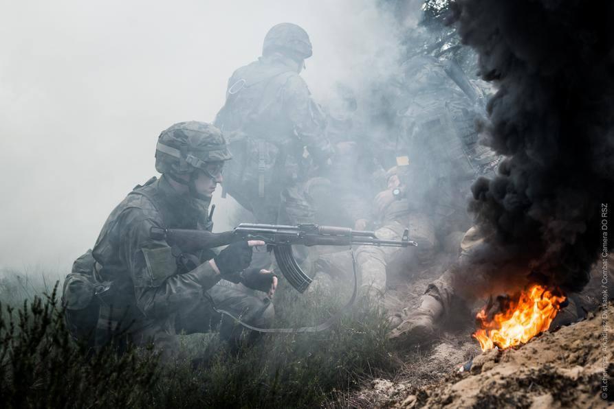 Małopolska Obrona Terytorialna - ćwiczenie Anakonda 2016 10-12.06.2016